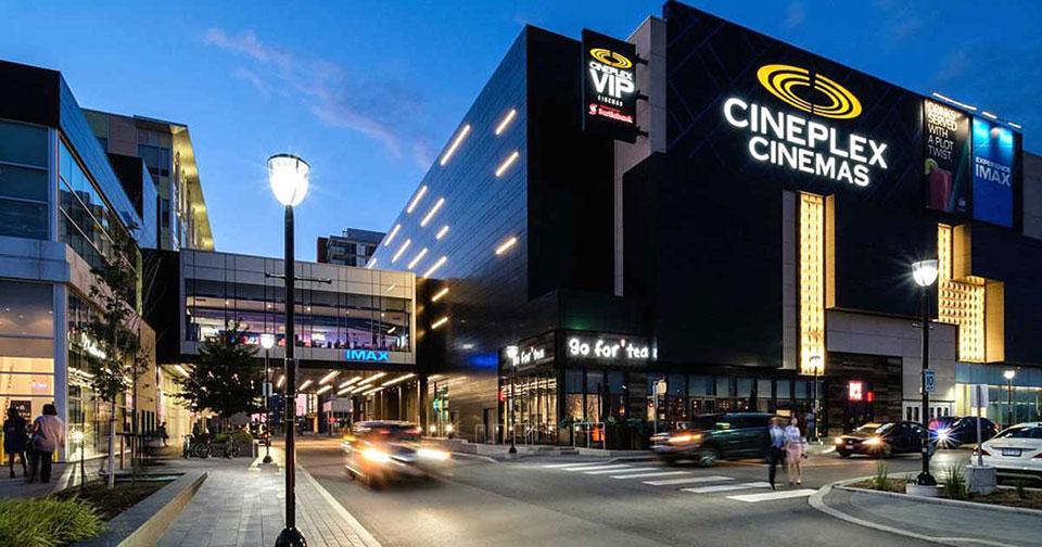 Cineplex 使用全自动映前广告系统